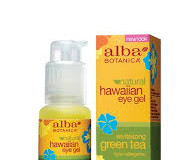 Alba Botanica Natural Hawaiian Eye Gel Revitalizing Green Tea Review