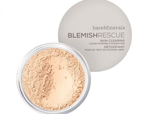 bareminerals blemish rescue powder for acne