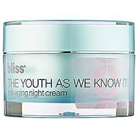 Bliss The Youth As We Know It Night Cream Review
