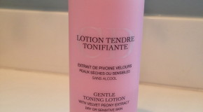 Dior Gentle Toning Lotion Review