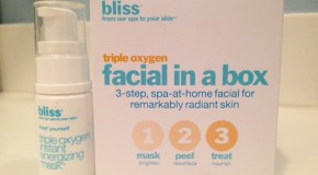 Bliss Triple Oxygen Facial In a Box Video Review