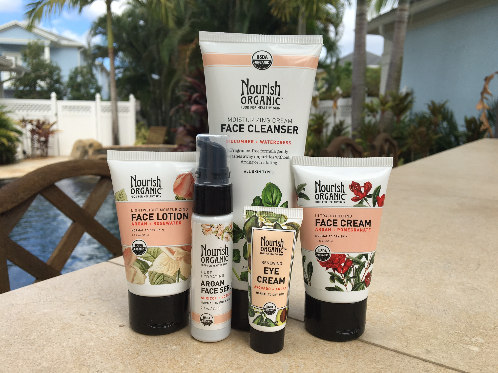 Nourish Organic Skin Care Review 100 Organics
