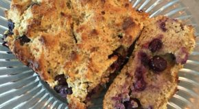 Blueberry Paleo Bread – Quick and Easy!