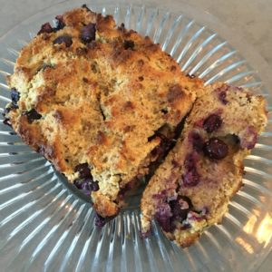 blueberry ketogenic bread recipe