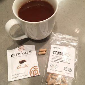 Keto Kalm Tea Chocolate