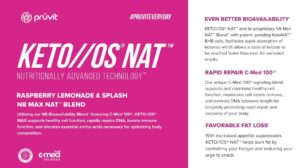 Pruvit Keto NAT All Natural Ketones