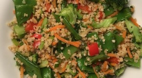 Millet & Veggie Stir Fry – Vegetarian recipe with lots of protein