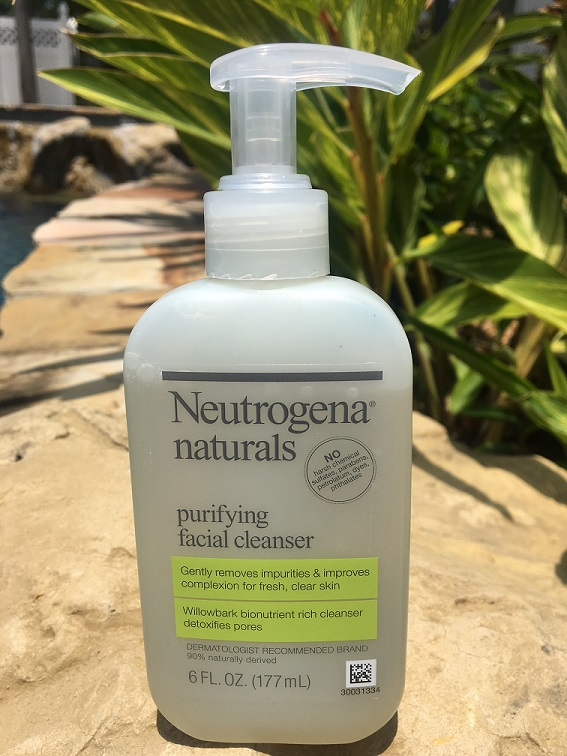 Neutrogena Naturals Purifying Facial Cleanser Review – How Natural is it?