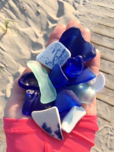 blue cobalt sea glass