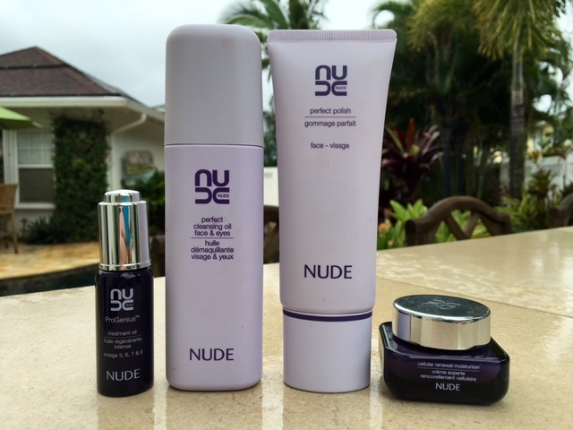 Nude Skincare Review Cleanser Polish Oil Amp Moisturizer
