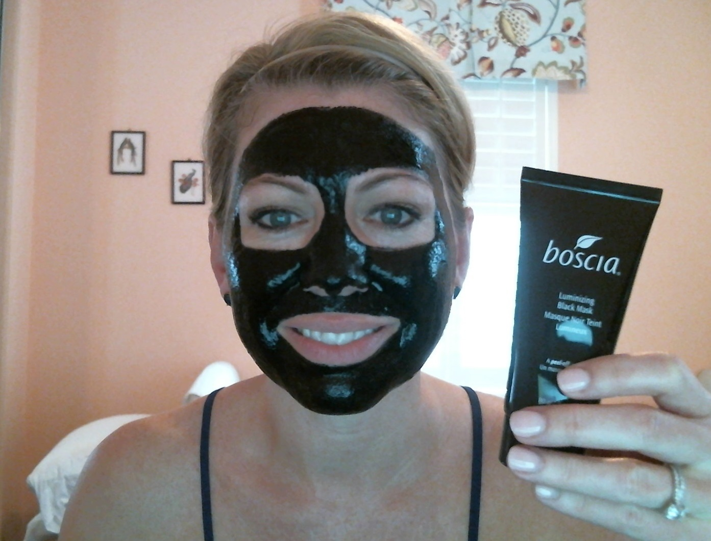 boscia luminizing black mask review and results. Black Bedroom Furniture Sets. Home Design Ideas