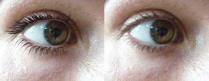 eye secrets lash growth accelerator before and after