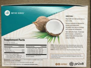 Pruvit mct 143 ingredients