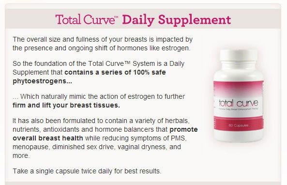 total curve ingredients