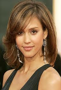 celebrity hairstyles piece layers with bangs