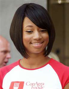 asymmetrical bob cut for black women