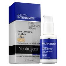 Neutrogena Ageless Intensives Tone Correcting Moisture Review