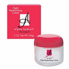 Alpha Hydrox Night Replenishing Cream Review