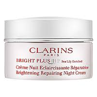 Clarins Bright Plus HP Repairing Brightening Night Cream Review
