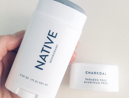 Native Deodorant Charcoal