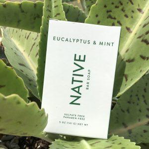 native bar soap scents