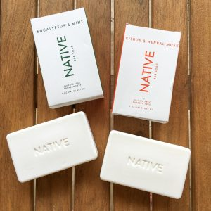 native bar soap scents